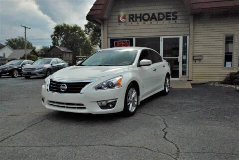 2013 Nissan Altima for sale at Rhoades Automotive Inc. in Columbia City IN