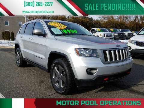 2013 Jeep Grand Cherokee for sale at Motor Pool Operations in Hainesport NJ