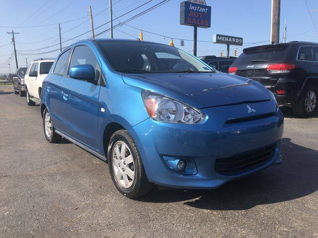 2014 Mitsubishi Mirage for sale at Instant Auto Sales in Chillicothe OH