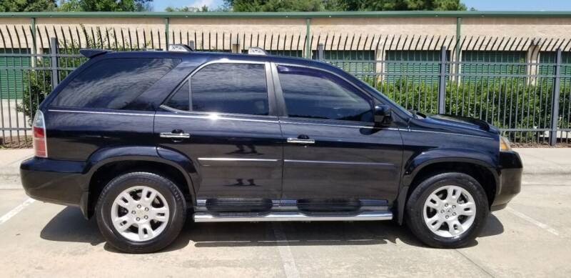 2006 Acura MDX for sale at Hollingsworth Auto Sales in Wake Forest NC