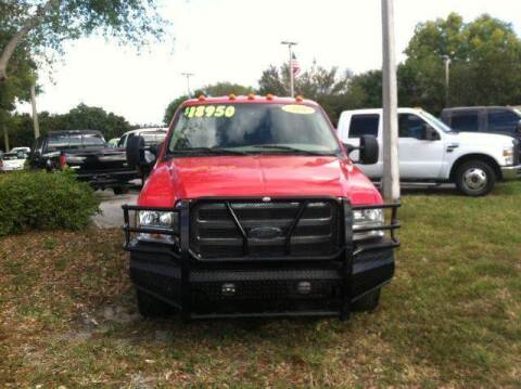 2006 Ford F-350 Super Duty for sale at DAN'S DEALS ON WHEELS AUTO SALES, INC. in Davie FL