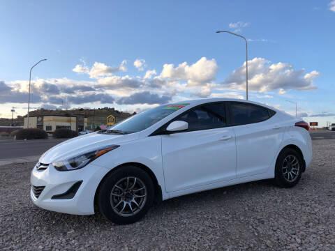 2016 Hyundai Elantra for sale at 1st Quality Motors LLC in Gallup NM