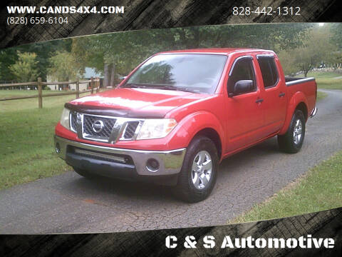 2010 Nissan Frontier for sale at C & S Automotive in Nebo NC