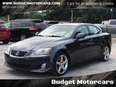 2007 Lexus IS 250 for sale at Budget Motorcars in Tampa FL