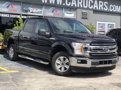 2018 Ford F-150 for sale at CARUCARS LLC in Miami FL