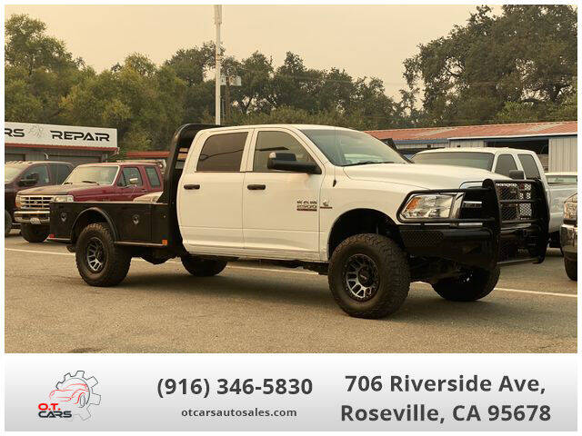 2017 RAM Ram Pickup 2500 for sale at OT CARS AUTO SALES in Roseville CA