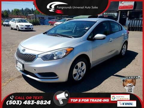 2014 Kia Forte for sale at Universal Auto Sales in Salem OR