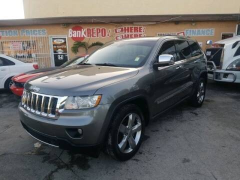 2012 Jeep Grand Cherokee for sale at VALDO AUTO SALES in Miami FL