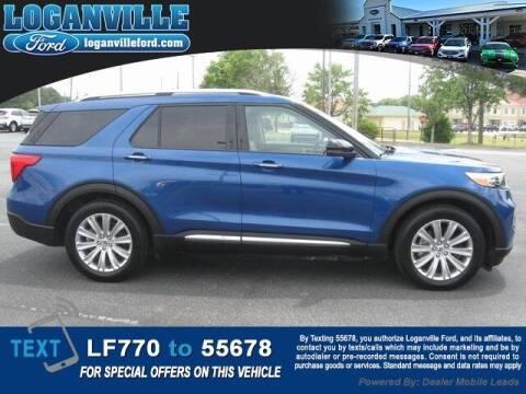 2020 Ford Explorer Hybrid for sale at Loganville Ford in Loganville GA