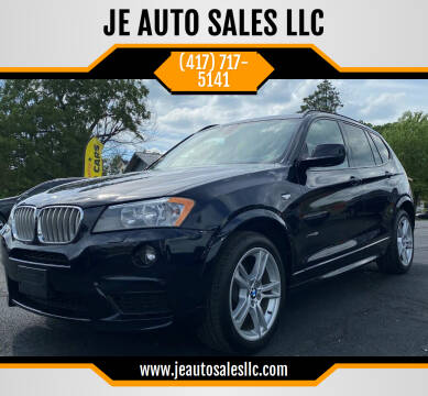2014 BMW X3 for sale at JE AUTO SALES LLC in Webb City MO