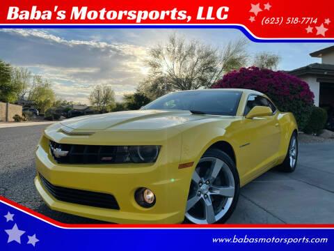 2010 Chevrolet Camaro for sale at Baba's Motorsports, LLC in Phoenix AZ