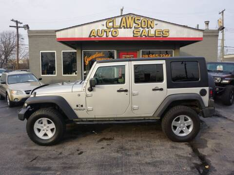 2007 Jeep Wrangler Unlimited for sale at Clawson Auto Sales in Clawson MI