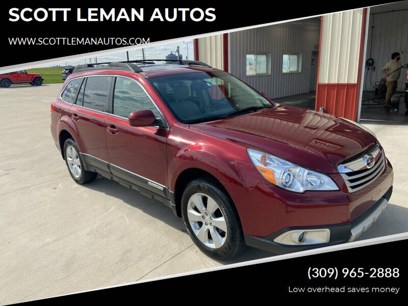 2011 Subaru Outback for sale at SCOTT LEMAN AUTOS in Goodfield IL