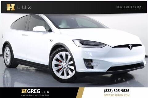 2020 Tesla Model X for sale at HGREG LUX EXCLUSIVE MOTORCARS in Pompano Beach FL
