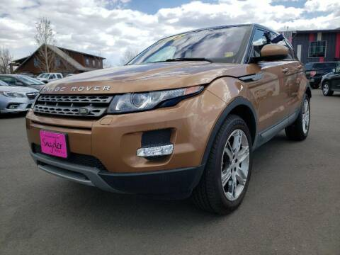 2015 Land Rover Range Rover Evoque for sale at Snyder Motors Inc in Bozeman MT