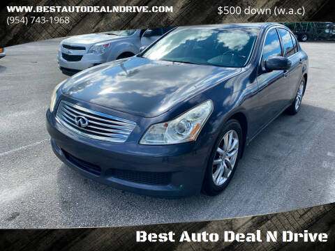 2007 Infiniti G35 for sale at Best Auto Deal N Drive in Hollywood FL