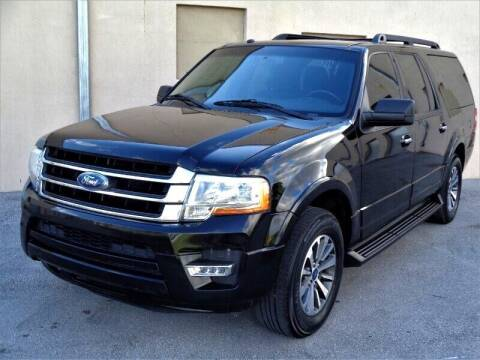 2017 Ford Expedition EL for sale at Selective Motor Cars in Miami FL