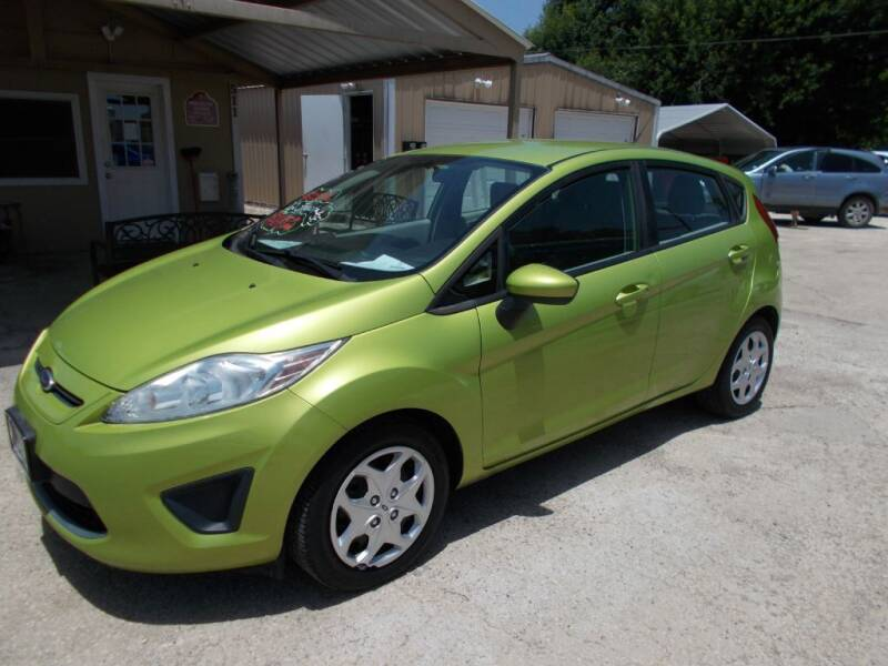 2012 Ford Fiesta for sale at DISCOUNT AUTOS in Cibolo TX
