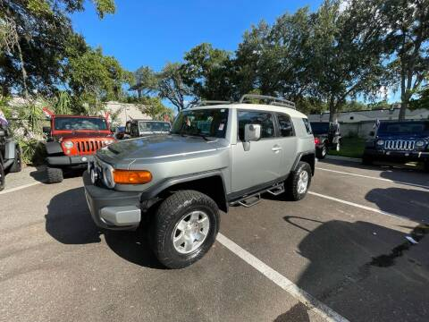 2010 Toyota FJ Cruiser for sale at Bay City Autosales in Tampa FL