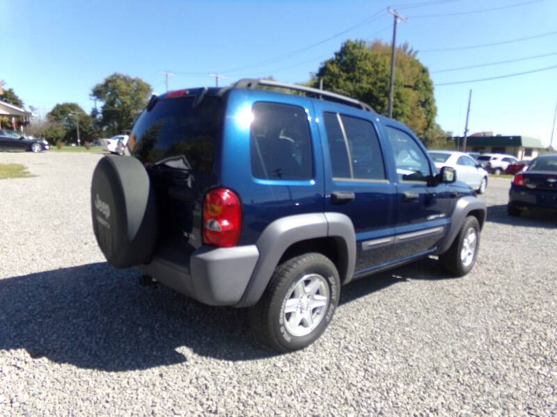 2003 Jeep Liberty for sale at English Autos in Grove City PA