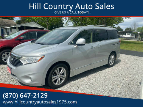 2014 Nissan Quest for sale at Hill Country Auto Sales in Maynard AR