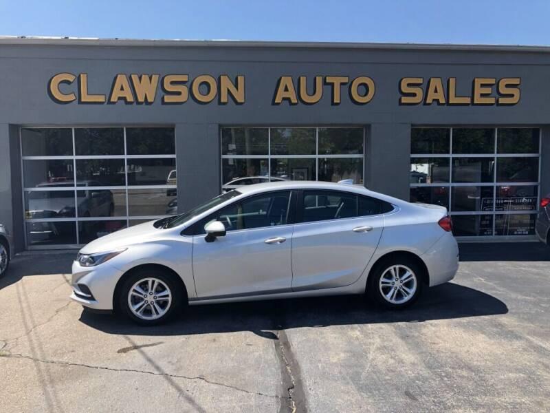 2018 Chevrolet Cruze for sale at Clawson Auto Sales in Clawson MI