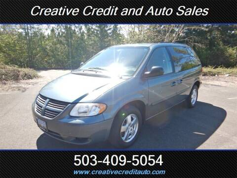 2006 Dodge Caravan for sale at Creative Credit & Auto Sales in Salem OR