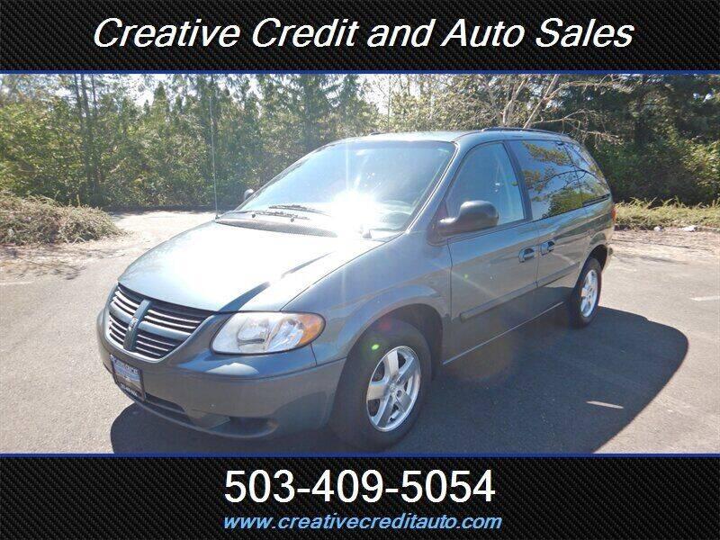 2006 Dodge Caravan for sale at Creative Credit & Auto Sales in Salem OR