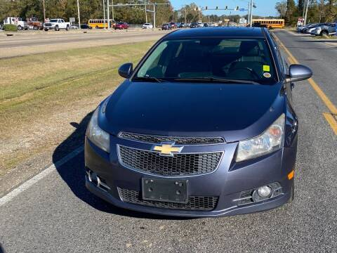 2013 Chevrolet Cruze for sale at Double K Auto Sales in Baton Rouge LA