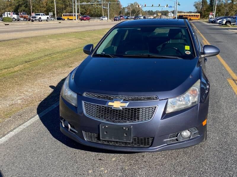 2013 Chevrolet Cruze for sale at Double K Auto Sales in Baton Rouge LA