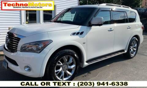 2014 Infiniti QX80 for sale at Techno Motors in Danbury CT