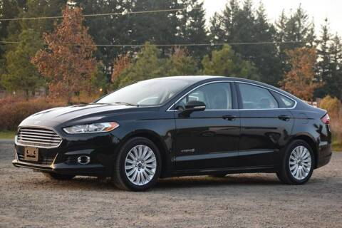 2014 Ford Fusion Hybrid for sale at Beaverton Auto Wholesale LLC in Aloha OR