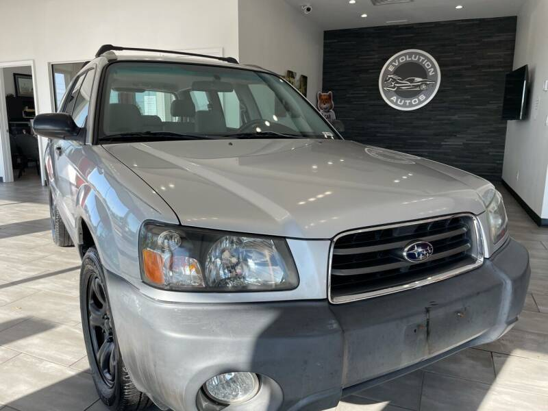 2003 Subaru Forester for sale at Evolution Autos in Whiteland IN