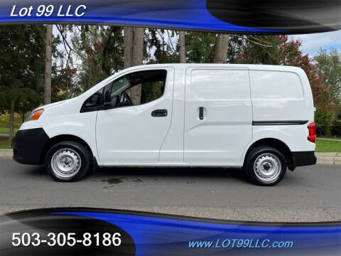 2015 Nissan NV200 for sale at LOT 99 LLC in Milwaukie OR