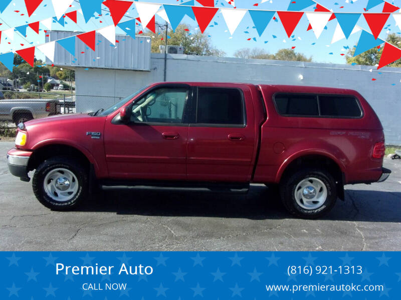 2001 Ford F-150 for sale at Premier Auto in Independence MO