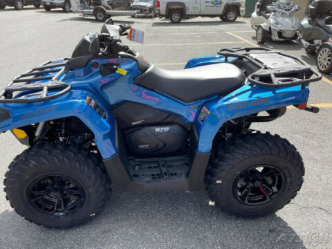 2022 Can-Am OUTLANDER 570 XT for sale at ROUTE 3A MOTORS INC in North Chelmsford MA