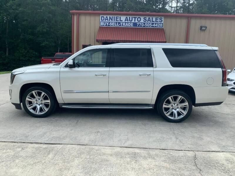 2015 Cadillac Escalade ESV for sale in Dallas, GA