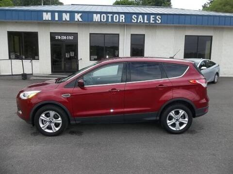 2015 Ford Escape for sale at MINK MOTOR SALES INC in Galax VA