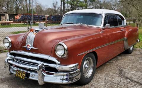 1954 Pontiac Chieftain for sale at Classic Car Deals in Cadillac MI