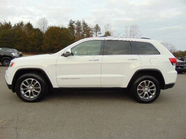 2014 Jeep Grand Cherokee for sale at E & M AUTO SALES in Locust Grove VA