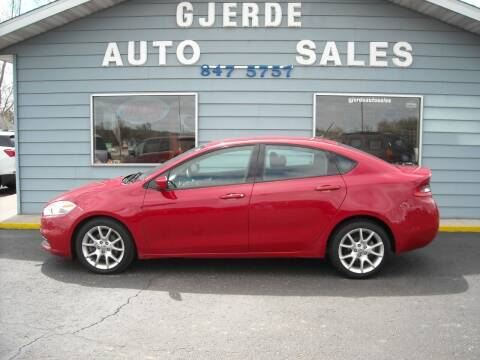 2013 Dodge Dart for sale at GJERDE AUTO SALES in Detroit Lakes MN