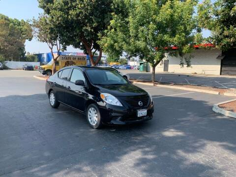 2014 Nissan Versa for sale at Blue Eagle Motors in Fremont CA