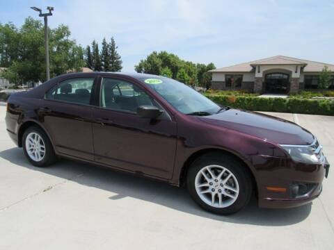 2012 Ford Fusion for sale at Repeat Auto Sales Inc. in Manteca CA