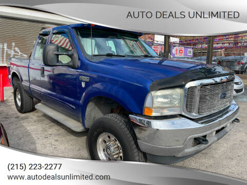 2003 Ford F-250 Super Duty for sale at AUTO DEALS UNLIMITED in Philadelphia PA
