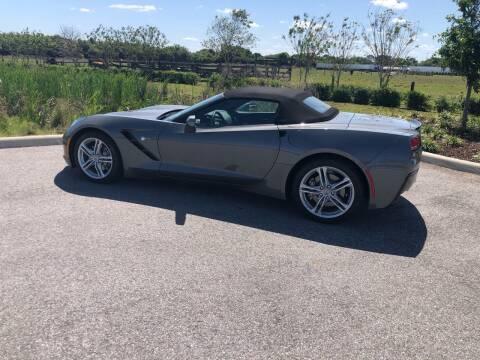 2016 Chevrolet Corvette for sale at Unique Sport and Imports in Sarasota FL