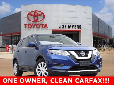 2019 Nissan Rogue for sale at Joe Myers Toyota PreOwned in Houston TX