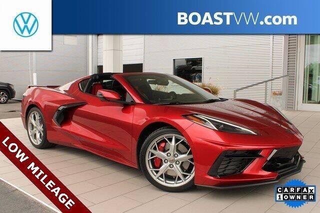 2021 Chevrolet Corvette for sale at BOAST MOTORCARS in Bradenton FL