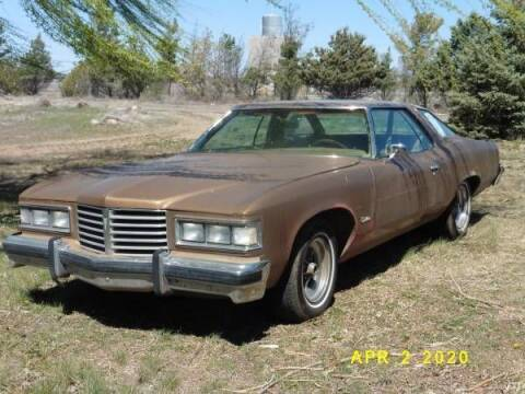 1976 Pontiac Catalina for sale at Classic Car Deals in Cadillac MI
