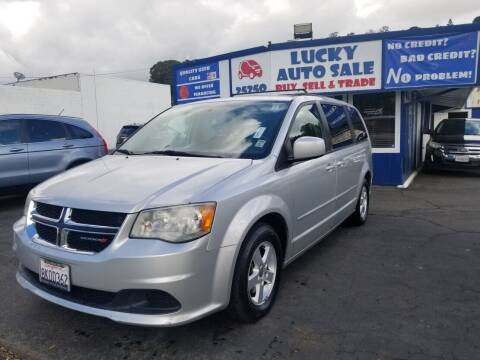 2012 Dodge Grand Caravan for sale at Lucky Auto Sale in Hayward CA