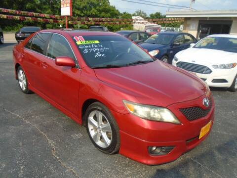 2011 Toyota Camry for sale at River City Auto Sales in Cottage Hills IL